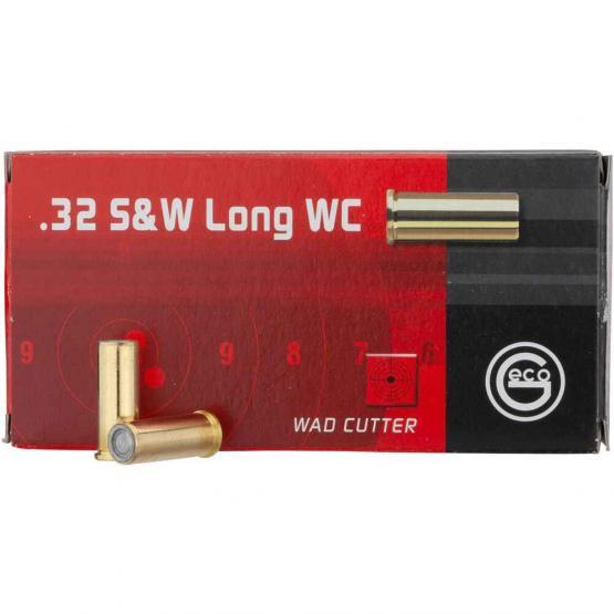 Geco .32 S&W Long WC 6.5g/100grs