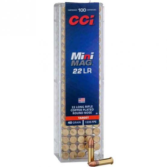 CCI .22lr MiniMag FMJ40grs/ Target