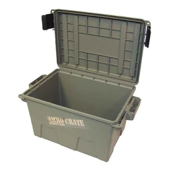 MTM Munitionsbox, stapelbar, oliv