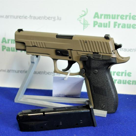 SIG-Sauer Mod: P226 Scorpion Pistole