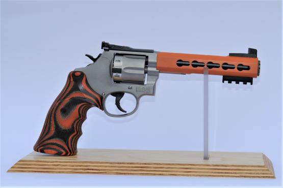 "Smith & Wesson 686 KeyMod ""Orange"" Revolver"