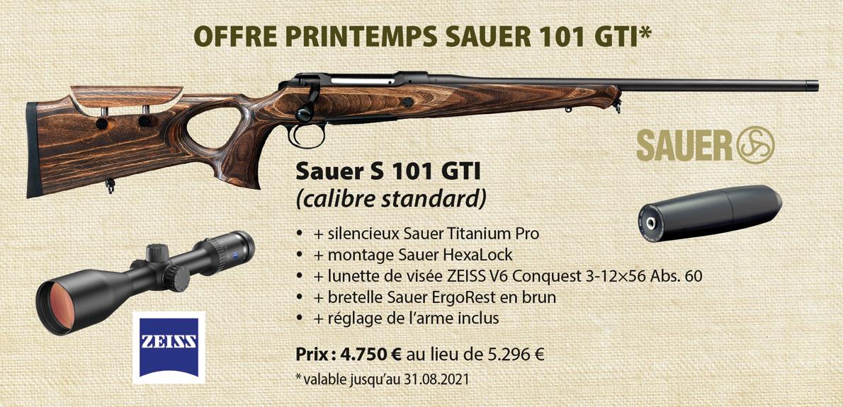 Banner Sauer 101 GTI